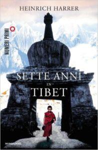 copertina sette anni in tibet