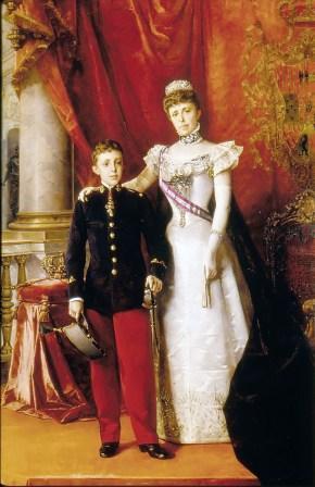 Alfonso_XIII_y_María_Cristina_Regente._1898._Luis_Alvarez_Catalá