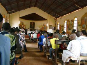 Messa domenicale a Matiri, foto di Stefania Bergo