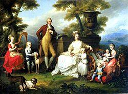 Ritratto della famiglia di Ferdinando IV
