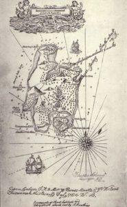 isola del tesoro mappa