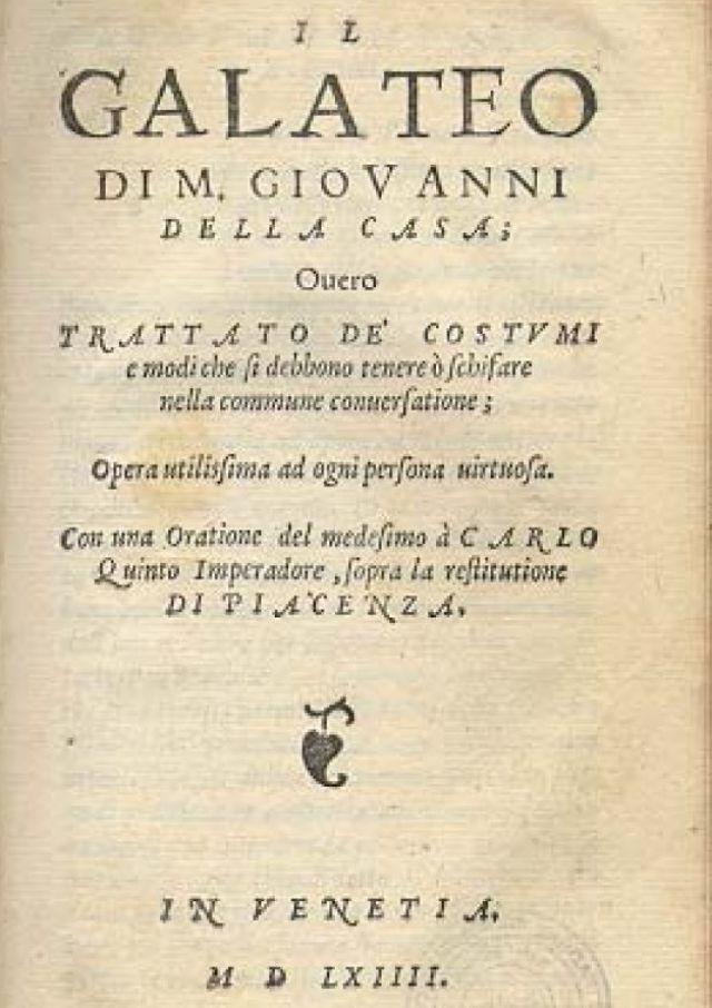 Monsignor Giovanni della Casa