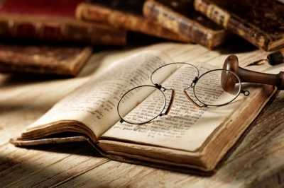 book libro old occhiali lettura