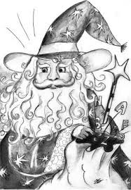 il mago pasticcione e le lettere dell'alfabeto