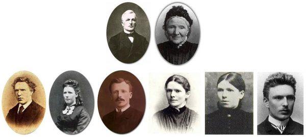 Van Gogh ritratto di famiglia