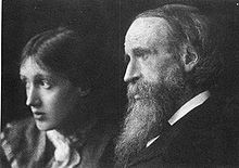 Virginia Woolf e padre