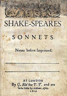 sonetti di William Shakespeare