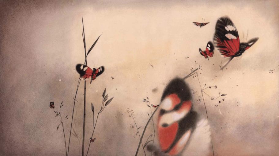 """""""Il bosco addormentato"""" di Rebecca Dautremer"""