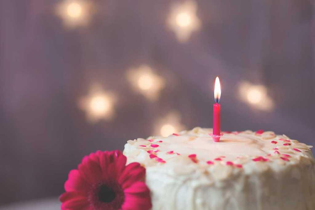 """""""Buon primo compleanno, amore mio"""" di Annarita Tranfici"""