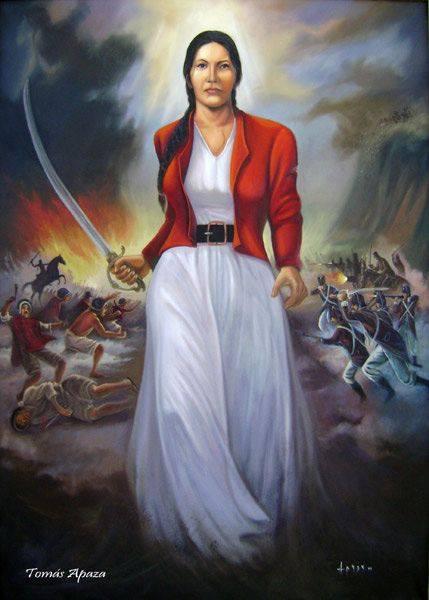 Juana Azurduy America Latina