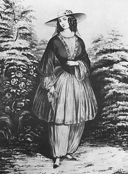 Elizabeth Smith Miller la donna che inventò i pantaloni